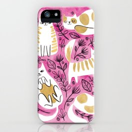 Fat Cats iPhone Case