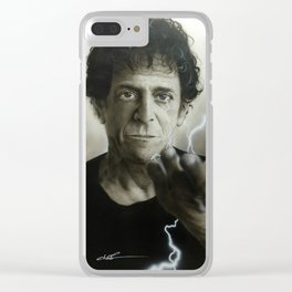 'Struck By The Power And The Glory' Clear iPhone Case