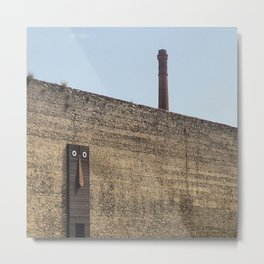 Clet Abraham art in Prato - Tuscany Metal Print