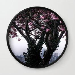 April Apparition Wall Clock