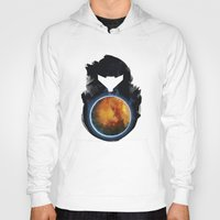 metroid Hoodies featuring Metroid Prime by Ian Wilding