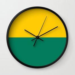Flag of the Hague Wall Clock