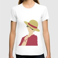 luffy T-shirts featuring Luffy by Polvo