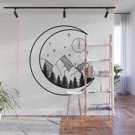 Warrior's Moon Wall Mural