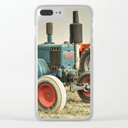 Blue Lanz Clear iPhone Case