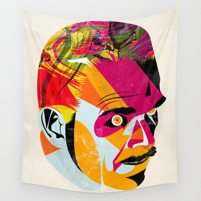 head_131112 Wall Tapestry