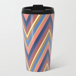 A different geometric zigzag pattern Travel Mug