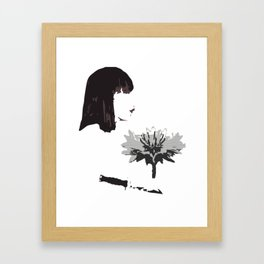 Cut the Head Off Framed Art Print
