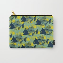 Water Fishes Carry-All Pouch
