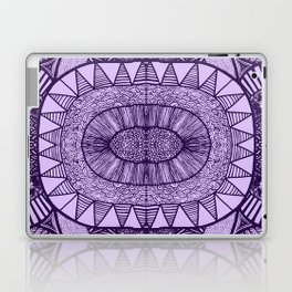 Grape Tangled Mania Pattern Doodle Design Laptop & iPad Skin
