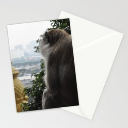 Monkey in Malaysia Stationery Cards