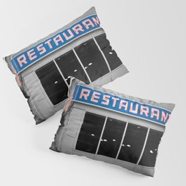 Toms Diner NYC Pillow Sham