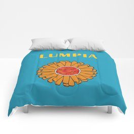 Filipino Kitchen Loteria - Lumpia Comforters