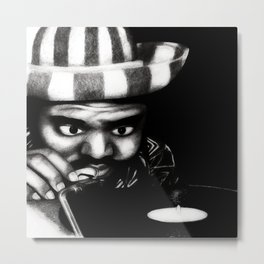 Reggae DJ Metal Print
