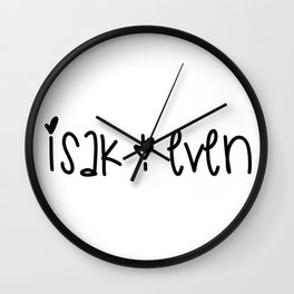 SKAM - Isak & Even Wall Clock
