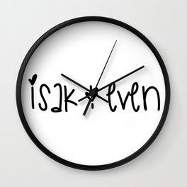 SKAM - Isak & Even Wall Clock