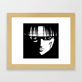 Kuroro Lucifer HunterXHunter Framed Art Print