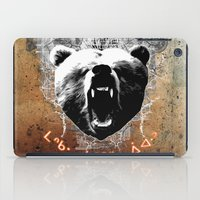 medicine iPad Cases featuring Bear Medicine by Cree Thunder