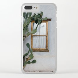 Barrio Viejo Clear iPhone Case
