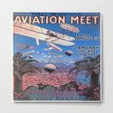 Vintage poster - Aviation Meet by mosfunky