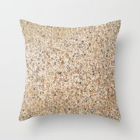 concrete Throw Pillows featuring Concrete by Julie McGray