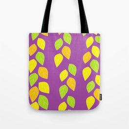 violet leaves Tote Bag