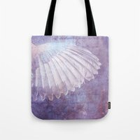 angel wings Tote Bags featuring WINGS by VIAINA