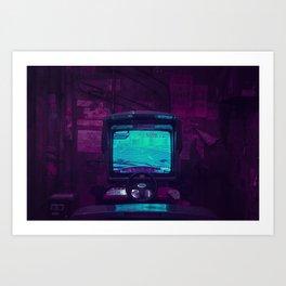 Tokyo Nights / Retro Arcade / Liam Wong Art Print