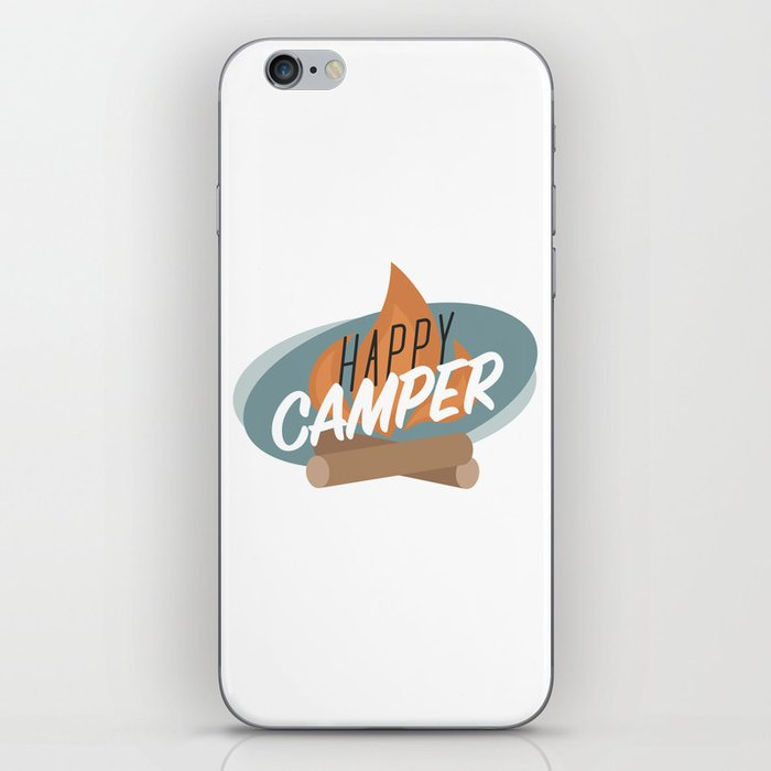 Happy Camper iPhone Skin