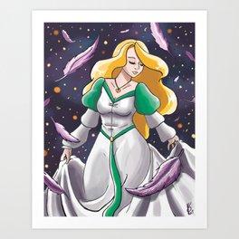Swan Princess Odette Art Print