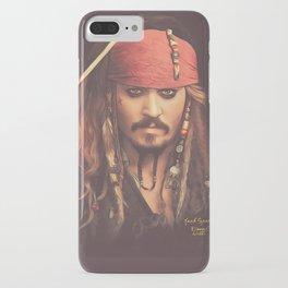 Jack Sparrow Digital Painting iPhone Case