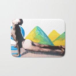 Bhujangasana Extensions Bath Mat