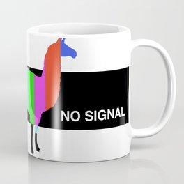 No Signal Llama Coffee Mug