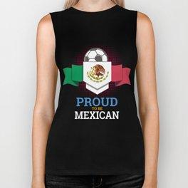 Football Mexican Mexico Soccer Team Sports Footballer Goalie Rugby Gift Biker Tank