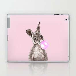 Bubble Gum Baby Kangaroo Laptop & iPad Skin