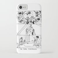 royal tenenbaums iPhone & iPod Cases featuring The Royal Tenenbaums by La Tia Pereques