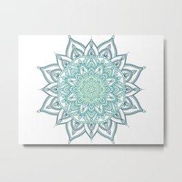 Cool Mandala Metal Print