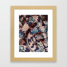 Year of the Snake Framed Art Print