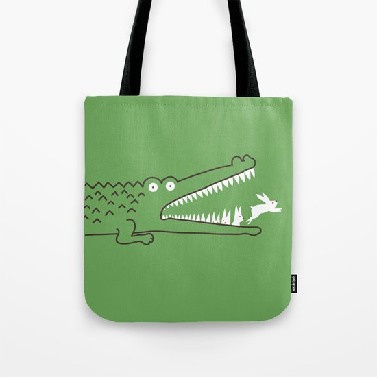 Mr. Croc's Nightmare Tote Bag