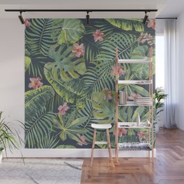 Palm Leaves Pattern 13 Wall Mural