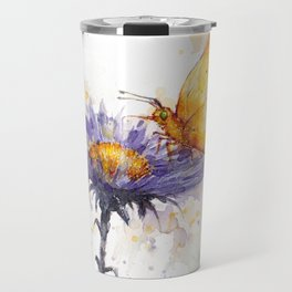 Flowers & Flutters Travel Mug