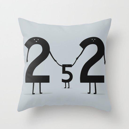 2 + 2 = 5 Throw Pillow
