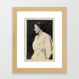 Nurse Bea Framed Art Print