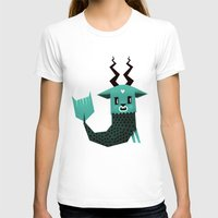 capricorn T-shirts featuring Capricorn by Yetiland