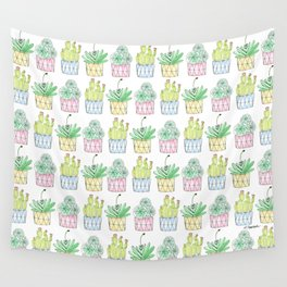 Succulent Trio Wall Tapestry