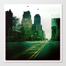 Broad Street Canvas Print