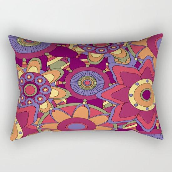 Flower 16 Rectangular Pillow