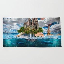 Book Castle Beach Towel