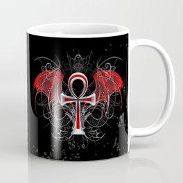 Gothic Ankh Coffee Mug
