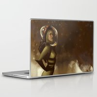 spaceman Laptop & iPad Skins featuring Spaceman by Kelly Perry
